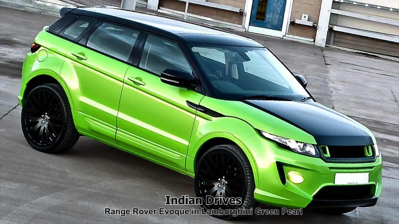 Lamborghini Green Pearl Rs250 Range Rover Evoque
