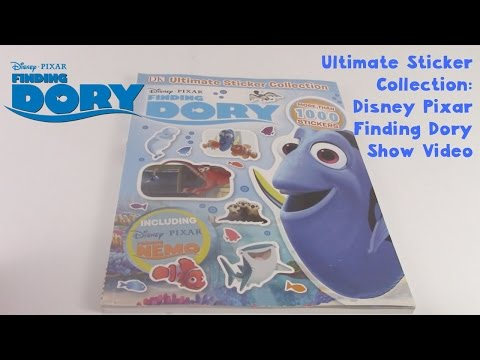 Ultimate Sticker Collection: Disney Pixar Finding Dory Show Video