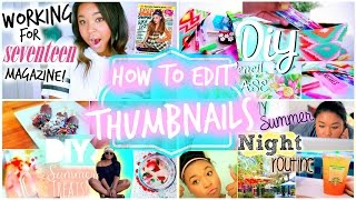How to Edit Thumbnails with Picmonkey