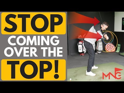 Why You Swing Over The Top & How To Fix It!