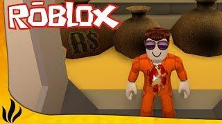 PRISON ESCAPE - BANK ROBBERY! (Roblox: Jailbreak)