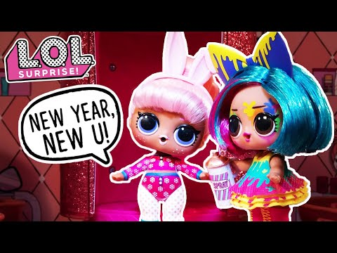 LOL Surprise!   Stop Motion Cartoon   New Year, New U! #Hairgoals Videos For Kids