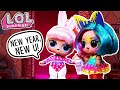 LOL Surprise! | Stop Motion Cartoon | New Year, New U! #Hairgoals Videos For Kids