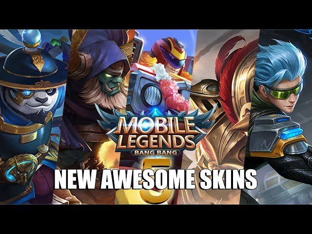 ALL NEW SKINS - AKAI IMPERIAL ASSASSIN, GROCK CASTLE GUARD, JOHNSON JEEPNEY RACER, GUSSION CYBER OPS