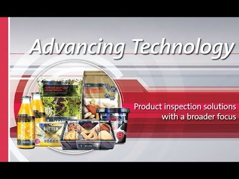 Advancing Technology - Product Inspection Solutions with a Broader Focus