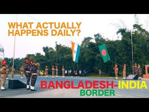 Flag lowering ceremony | বাংলাদেশ- ভারত সীমান্তের অভাবনীয় মুহূর্ত | Banglabandha zero point