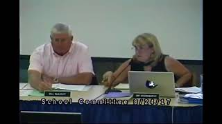 School Committee Meeting 8/24/17
