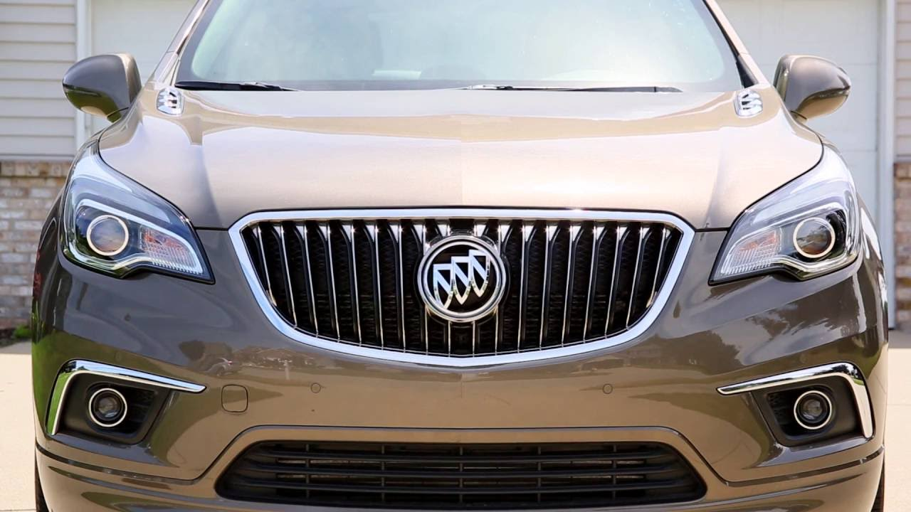 2016 Buick Envision Review and Test Drive