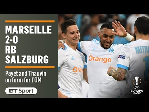 Marseille 2-0 Salzburg: Europa League highlights