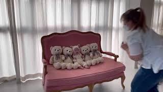 아기슬아 100일 사진촬영 한날(생후130일)