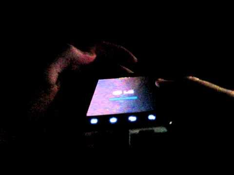 LG P990 Optimus Speed Backlight Bleeding