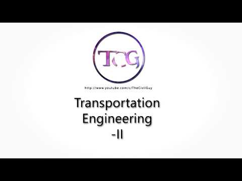 Transportation Engineering | PDF Only | TheCivilGuy | MU