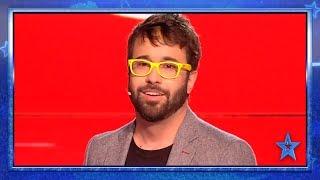 Este MAGO arrasa con su LIBRO, su HUMOR y su MAGIA en DIRECTO | Semifinal 2 | Got Talent España 2019
