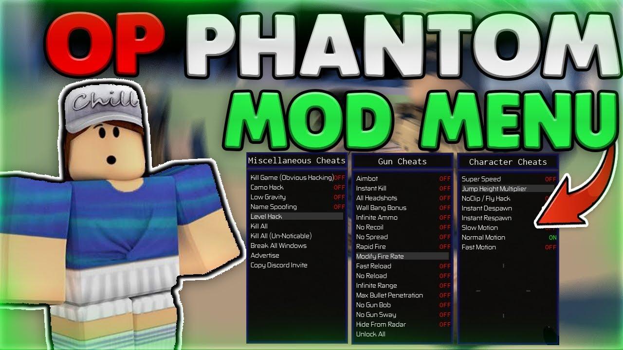 New Roblox Hackscript Phantom Forces Gui Kill All Aimbotunlock All Phantom Forces Op Mod Menu And Aimbot Working 03 Oct 18 By Thunder Mods