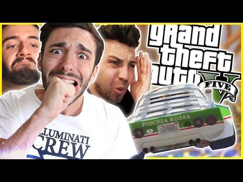 LITIGO CON UN FAN NELLE NUOVE GARE STUNT! - GTA V Online w/S7ORMy & BrazoCrew