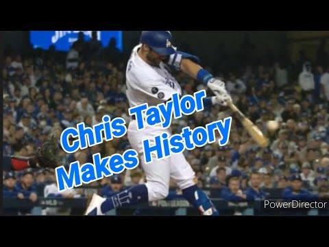 Los Angeles Dodgers: Chris Taylor Makes History In Dodgers Elimination Game By Joseph Armendariz