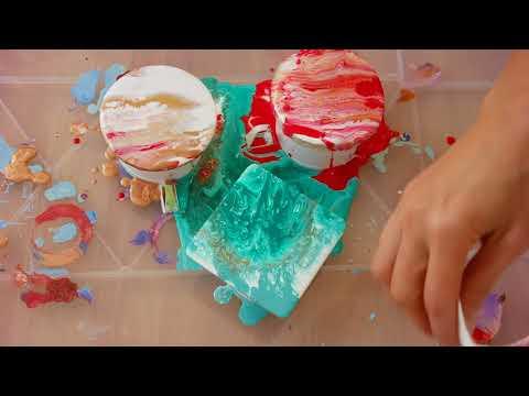 Fluid Painting Workshop by Ana Paz (Zurich)