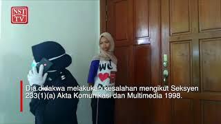 Nursahira hina polis didenda RM10,000, penjara