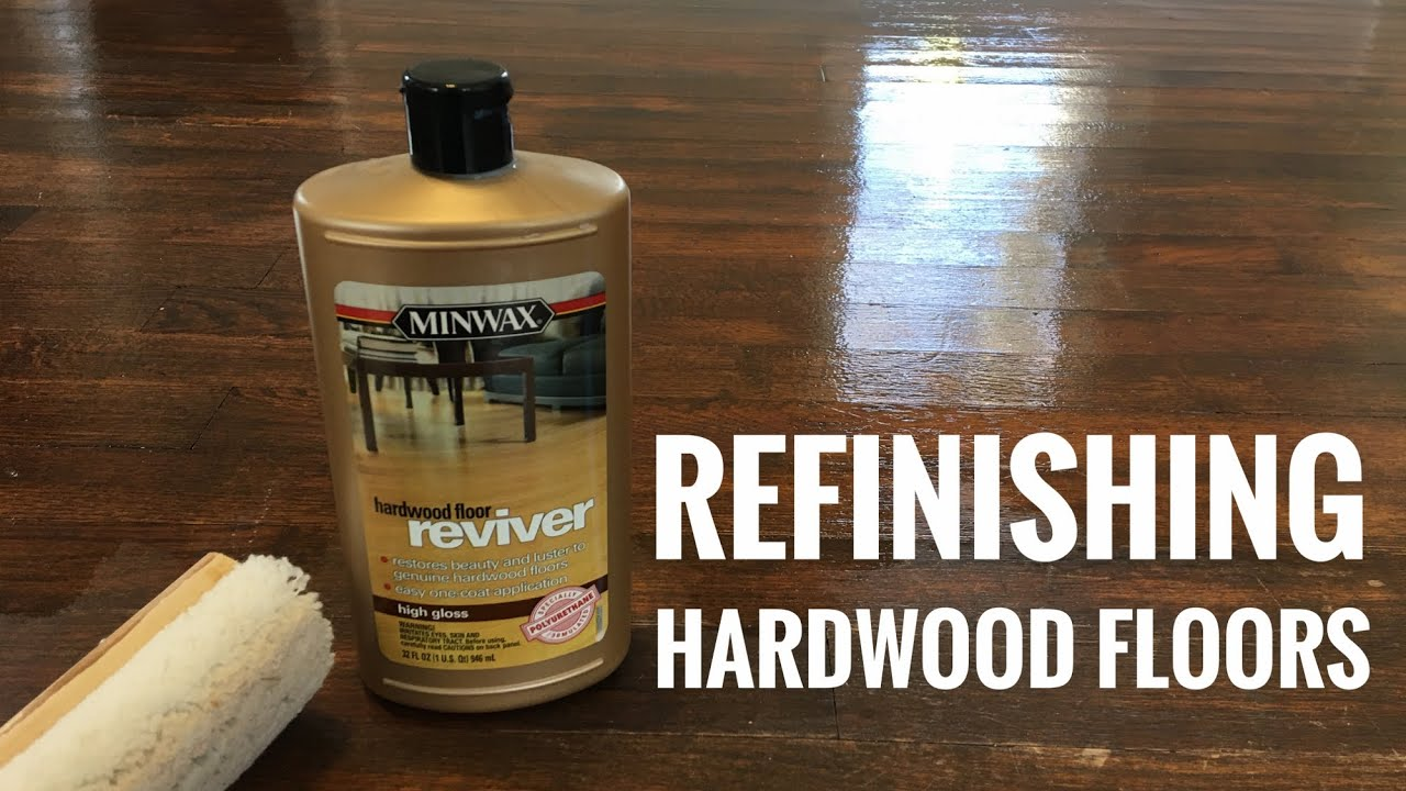 Refinishing Hardwood Floors With Minwax Reviver Time Lapse Youtube