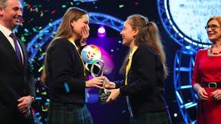 dublin schoolgirls win bt young scientist technology exhibition 2016