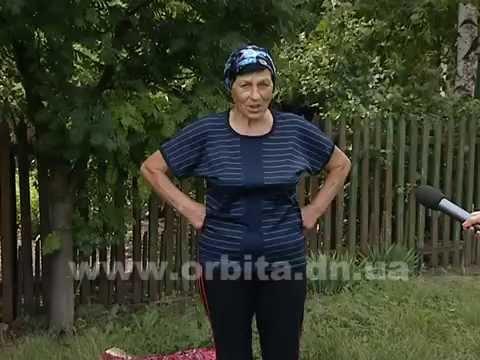 80-летняя жительница Сергеевки