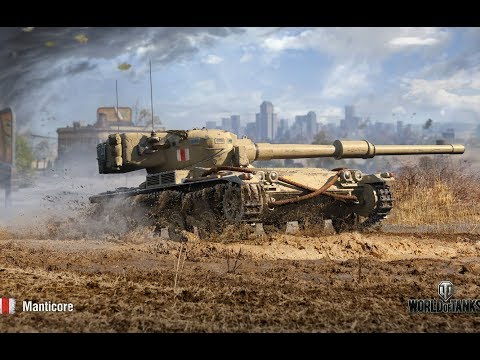 Танкосмотр2019 #31. Британия. Легкие танки (веткa Manticore) | World Of Tanks
