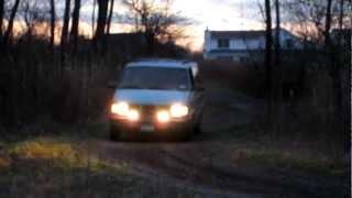 GMC Safari AWD off raod.