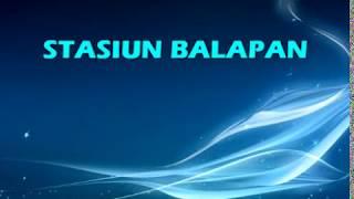 Download STASIUN BALAPAN Karaoke No Vokal Didi Kempot by Saka