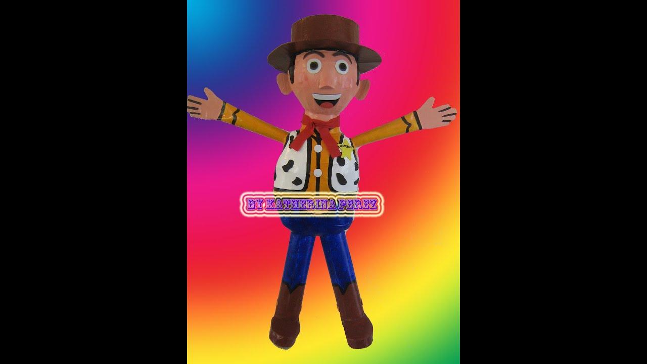 Woody Toy Story pinata - YouTube