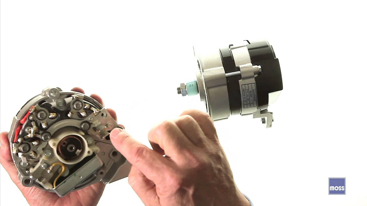 Chevy Generator Wiring Generator To Alternator Conversion Youtube