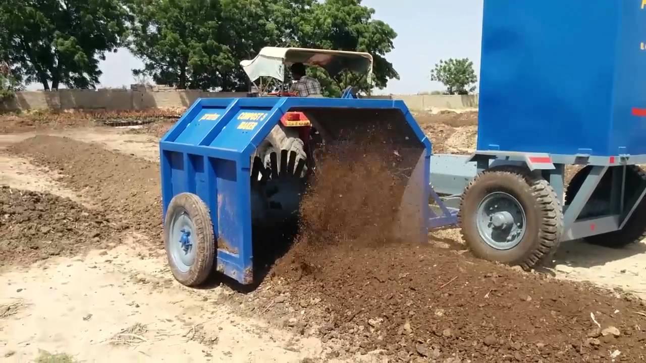 compost making machine in india