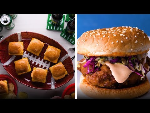 Hot Dogs, Burgers and Buns, Oh My! 6 Game Day Recipes Done Right! So Yummy
