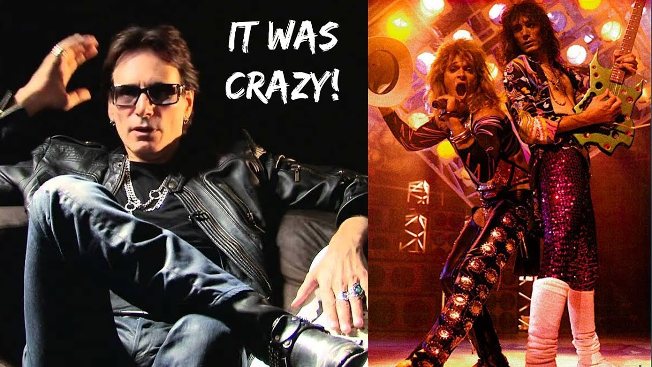Steve Vai On Debauchery With David Lee Roth Band Sounds Unbelievable What Went On Youtube
