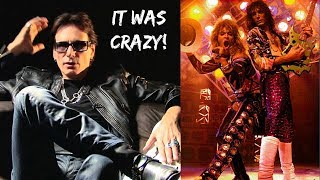 "Steve Vai on DEBAUCHERY with David Lee Roth Band ""Sounds Unbelievable What Went On!"""