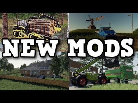 AMAZING NEW MODS AND UPDATES OUT NOW..... FEB 17 2020 | Farming Simulator 19