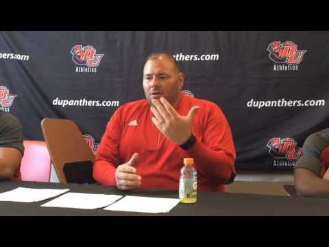 Davenport coach Lou Esposito after losing finale