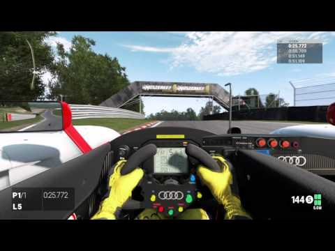 Project CARS - Audi R8 LMP at Oulton Park Hot Lap