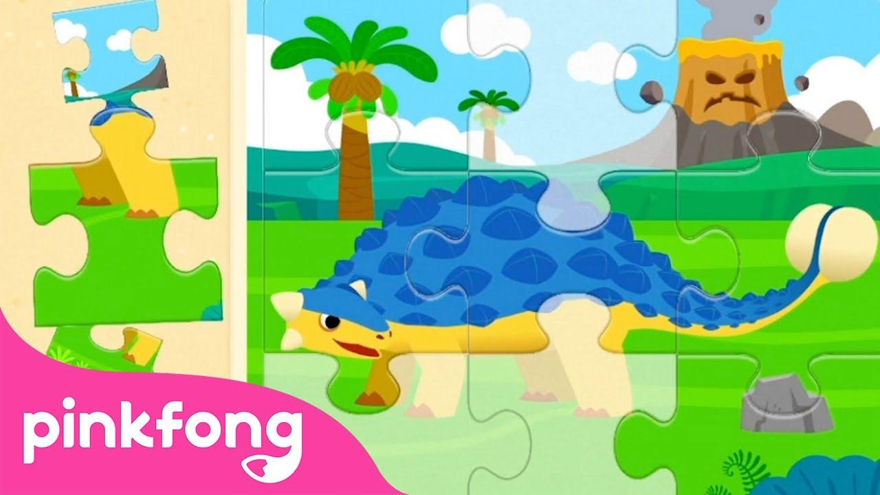 Pinkfong Dino World   Game Play   Kids App   Pinkfong Game   Pinkfong Kids App Games