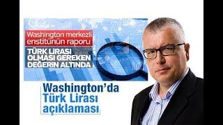Serdar Turgut :  Washington'da Türk Lirası açıklaması