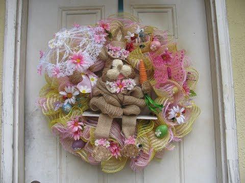 Carmen's 2019 ,, Victorian Bunny Wreath
