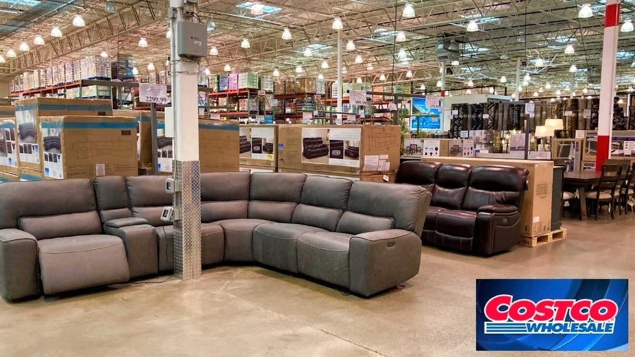 COSTCO FURNITURE SOFAS COUCHES ARMCHAIRS TABLES HOME DECOR SHOP WITH ME SHOPPING STORE WALK THROUGH