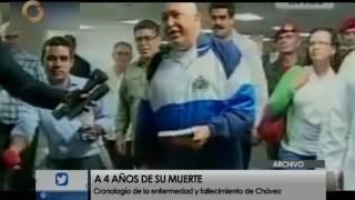 Cronología De La Enfermedad Y Fallecimiento De Hugo Chávez