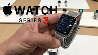 Hands-on with Apple Watch Series 3