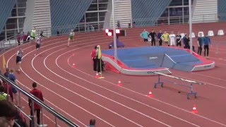 Первенство СПб среди юниоров 97-98 400 м. Забег