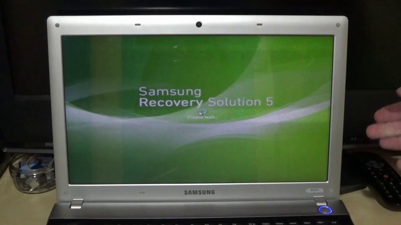 Samsung Recovery Solution Admin Tool