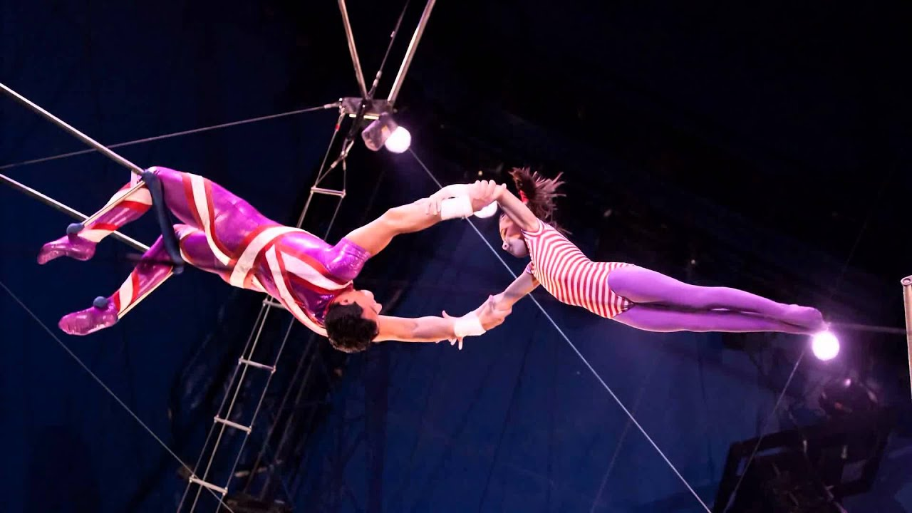 Circus Flying Trapeze Artist