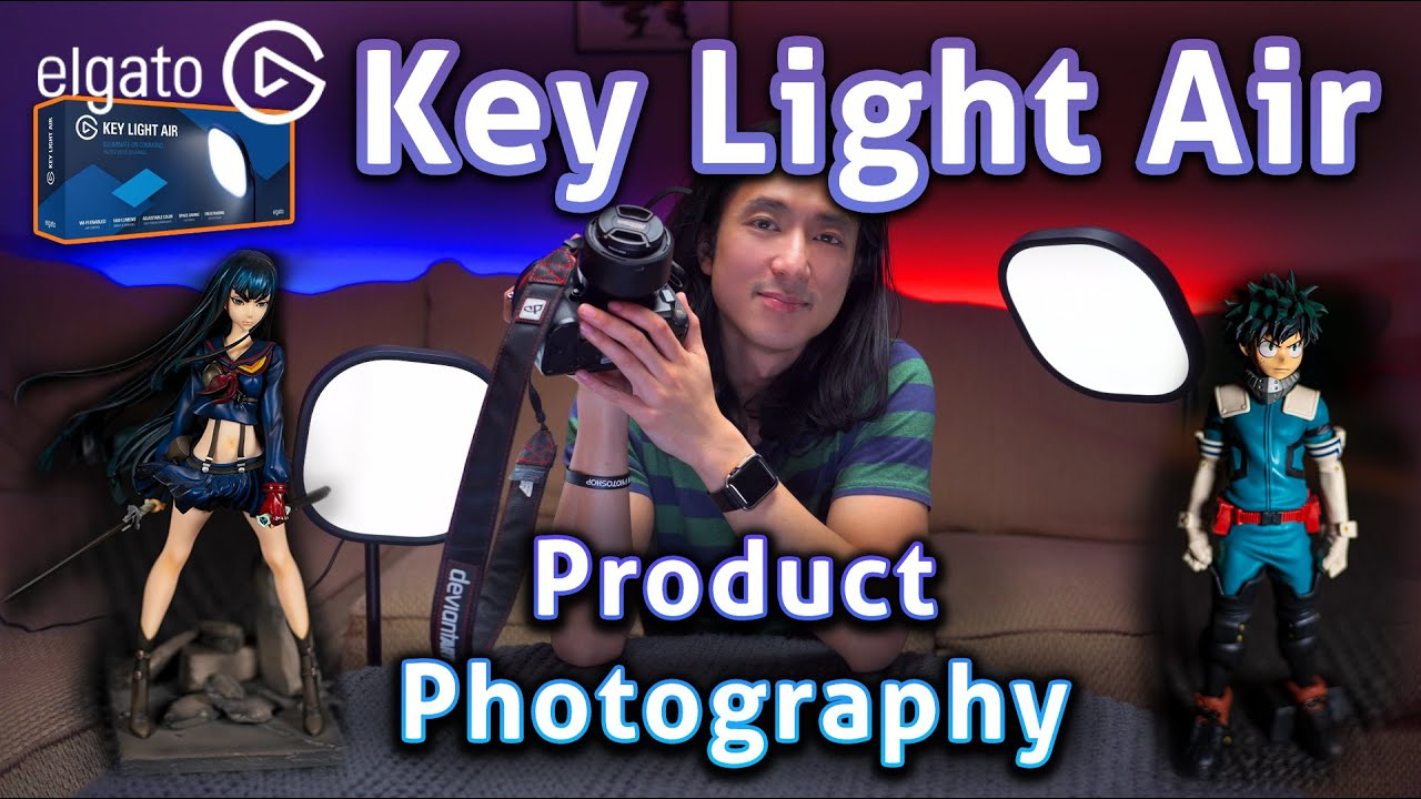 Streamer Lights Are Perfect For Photography! - Elgato Key Light Air