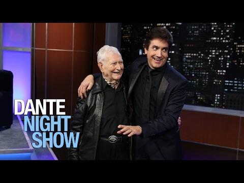 Don Federico Gebel en el público de Dante Night Show