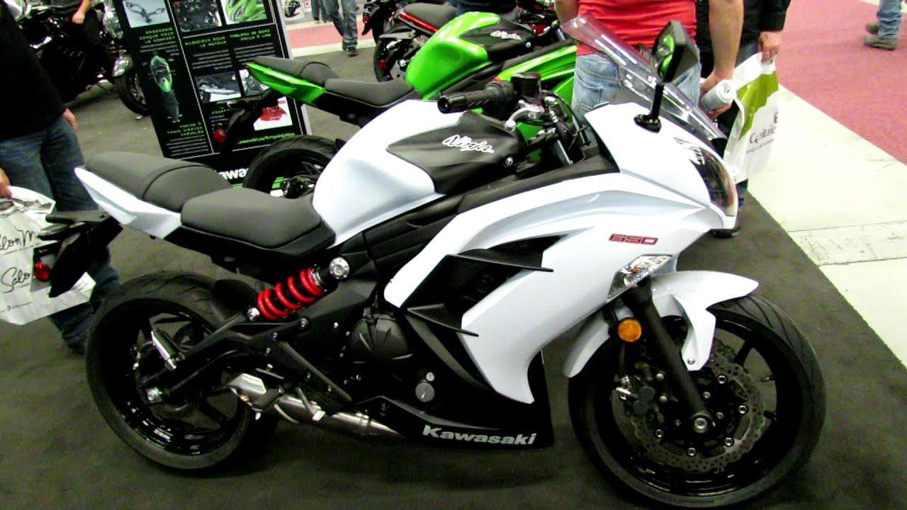 2013 Kawasaki Ninja 650 ABS - Walkaround - 2013 Montreal Motorcycle ...