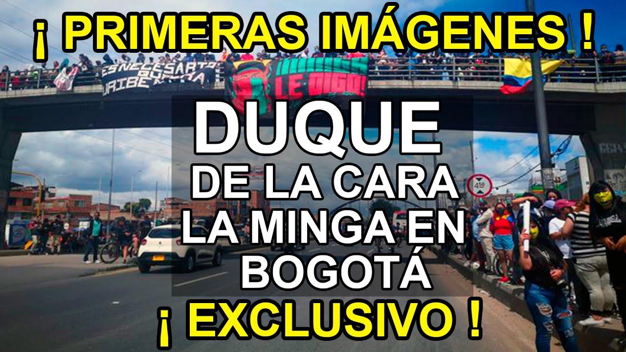 ❗EXCLUSIVO❗ Así recibió Bogotá a La Minga Indígena  del Cauca (Imágenes sin editar)ENTRADA TRIUNFAL🏆